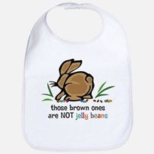 Brown Jelly Beans Bib