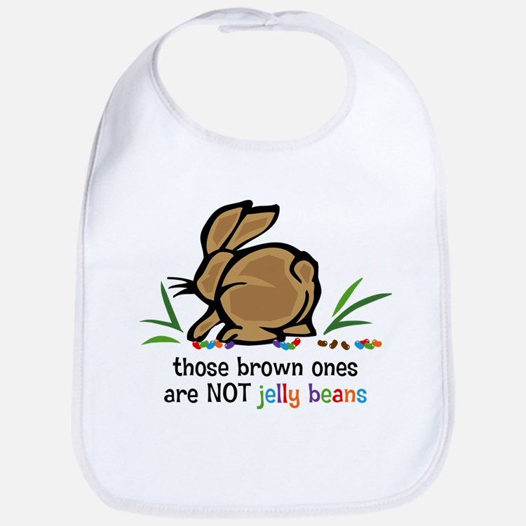 Brown Jelly Beans Bib