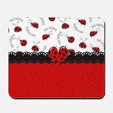 Ladybugs Dotty World Mousepad