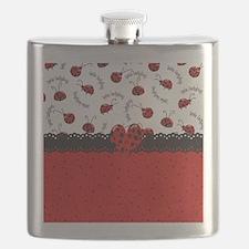 Ladybugs Dotty World Flask
