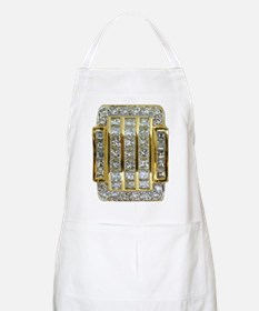 Yellow Gold and Diamond Bling Apron