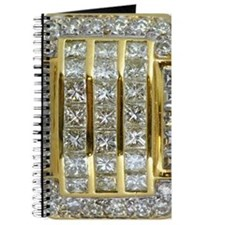 Yellow Gold and Diamond Bling Journal