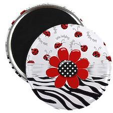 Wild Ladybugs Magnet