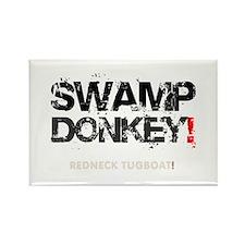 SWAMP DONKEY - REDNECK TUGBOAT! V Rectangle Magnet