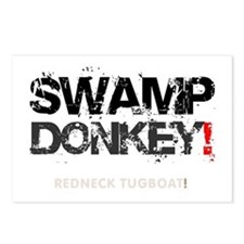 SWAMP DONKEY - REDNECK TU Postcards (Package of 8)