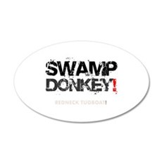 SWAMP DONKEY - REDNECK TUGBO Wall Decal
