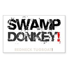 SWAMP DONKEY - REDNECK TUGBOAT Decal