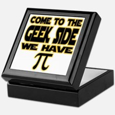 Come to the geek side we have pi Keepsake Box