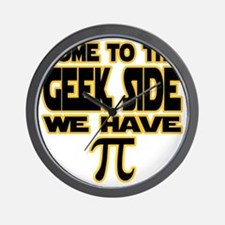 Come to the geek side we have pi Wall Clock