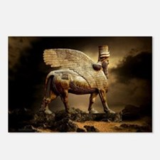 Winged Bull Postcards (Package of 8)