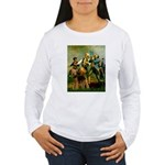 Spirit '76 - Airedale #6 Women's Long Sleeve T-Shi