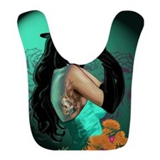 Top Hat Dia de los Muertos Pin-up Bib