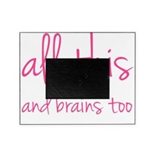 allthisBrains1D Picture Frame