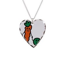 carrot_and_pea Necklace