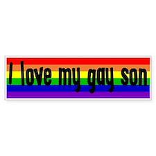 """Gay Son"" Bumper Bumper Sticker"