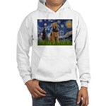 Starry - Airedale #1 Hooded Sweatshirt