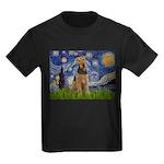 Starry - Airedale #1 Kids Dark T-Shirt