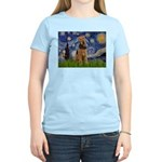 Starry - Airedale #1 Women's Light T-Shirt