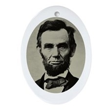 LINCOLN Oval Ornament