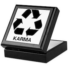 Funny Karma Keepsake Box