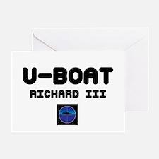 U-BOAT RICHARD III - PERISCOPE! Greeting Card