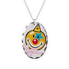 Clown Smiley Necklace