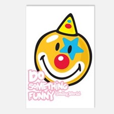 Clown Smiley Postcards (Package of 8)