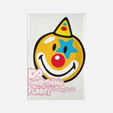 Clown Smiley Rectangle Magnet