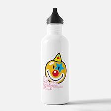 Clown Smiley Water Bottle
