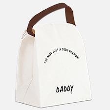 American Foxhound daddy designs Canvas Lunch Bag