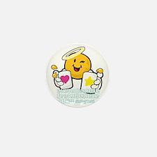 Be nice Smiley Mini Button