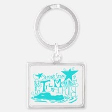 Second Star Landscape Keychain