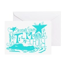 Second Star Greeting Card