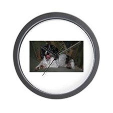 Happy Dog Wall Clock
