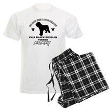 Black Russian Terrier mommy d Pajamas