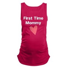Cute First Time Mommy Maternity Tank Top