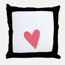 Cute First Time Mommy Throw Pillow