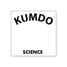 """Kumdo the real sweet scienc Square Sticker 3"""" x 3"""""""
