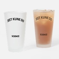 Jeet Kune Do the real sweet science Drinking Glass