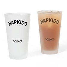 Hapkido the real sweet science Drinking Glass