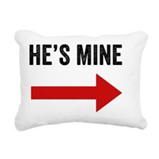 Hes Mine Rectangular Canvas Pillow