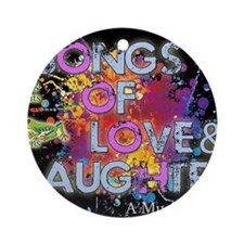 Songs of Love and Laughter Concert Round Ornament