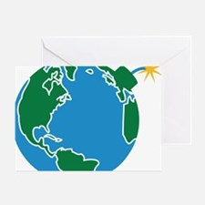 explosive_earth Greeting Card