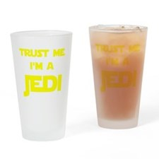 Trust Me I'm A Jedi Drinking Glass