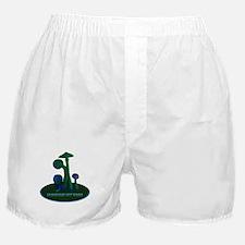 Mushrooms Not Bombs Boxer Shorts