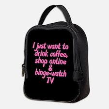Drink Coffee Shop Online and Bi Neoprene Lunch Bag