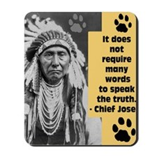 Truth Quote Mousepad