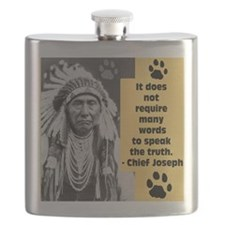 Truth Quote Flask