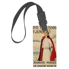 USA military Nurse country needs Luggage Tag