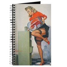 Classic Elvgren 1950s Pin Up Girl Journal